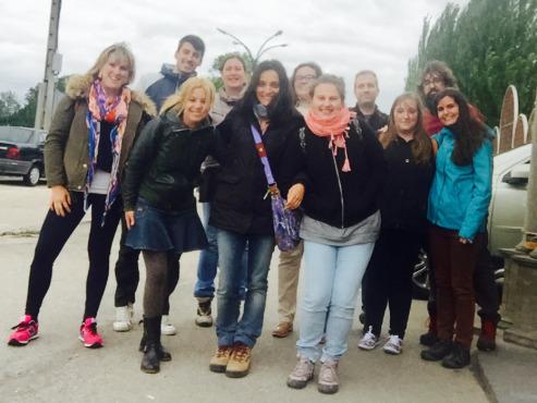 Visita de los Estudiantes de la Universidad de Salamanca